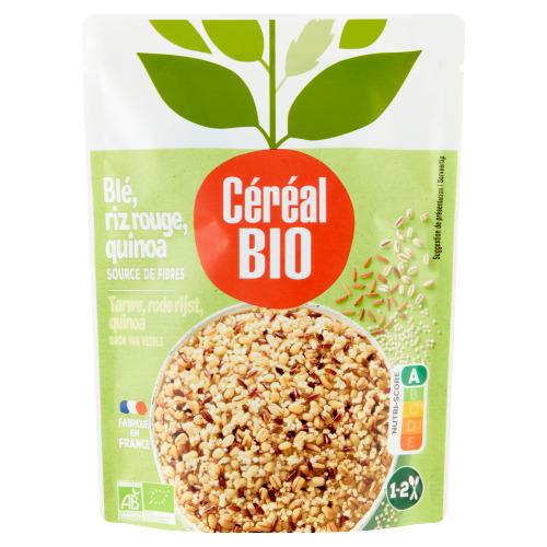 Céréal Bio Tarwe, Rode Rijst en Quinoa 220 g (220g)