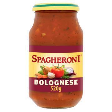 Pastasaus bolognese met gehakt (pot, 520g)