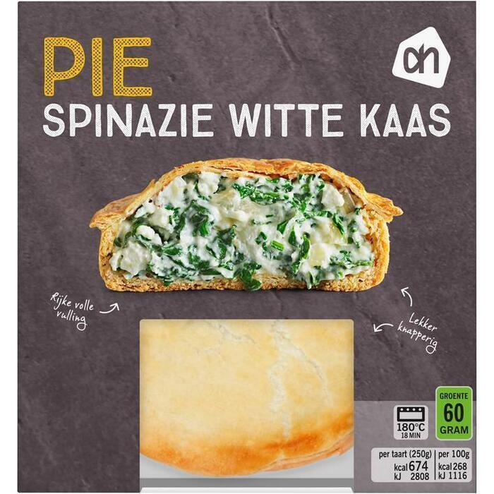 AH Pie spinazie witte kaas (250g)