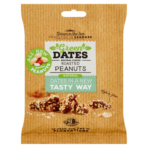 Green Dates Natural Coated Roasted Peanuts 120 g (120g)
