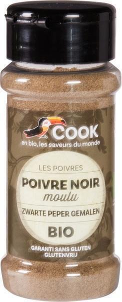 Zwarte peper gemalen (45g)