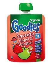 Squeezy appel-aardbei (Stuk, 90g)
