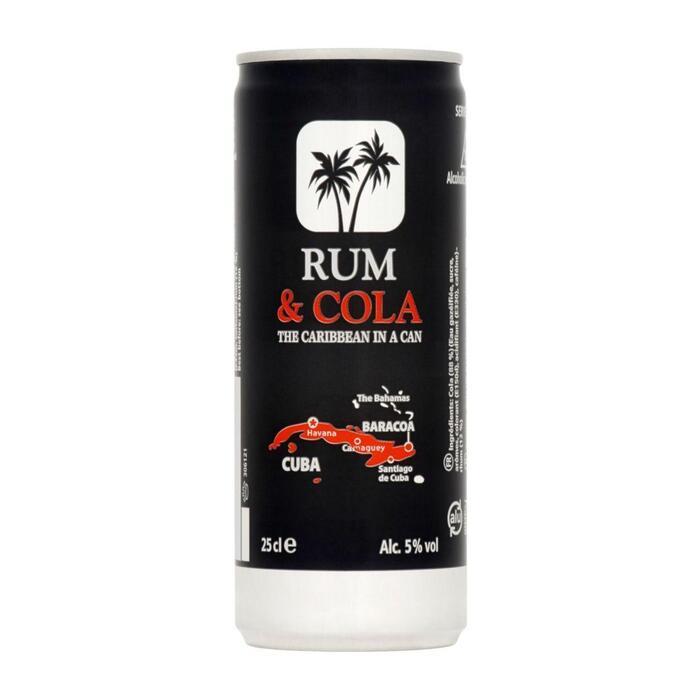Baracoa Rum & cola (250ml)