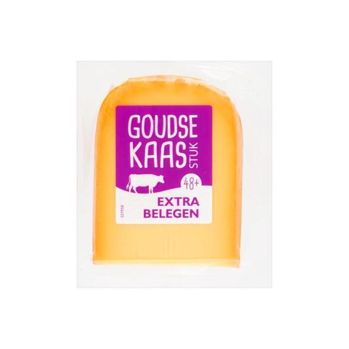 Goudse Kaas 48+ Extra Belegen Stuk ca. 500 g