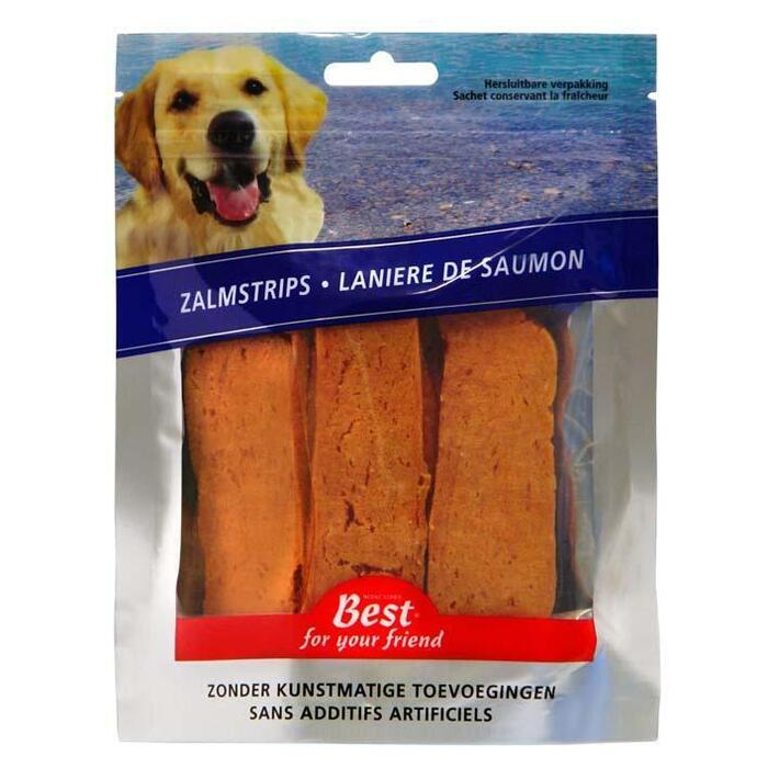 Best For Your Friend Zalmstrips 150g (150g)