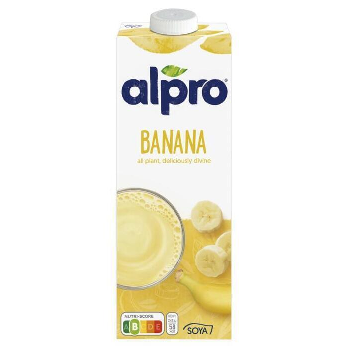 Alpro Sojadrink Banaan 1 L (Stuk, 1L)