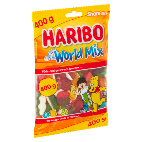 Haribo World Mix 400 g (400g)