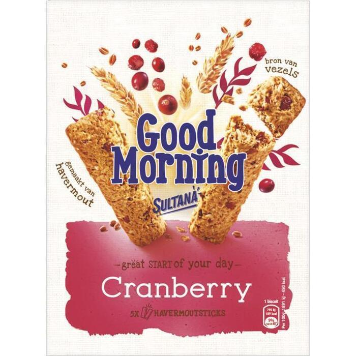 Goodmorning cranberry (Stuk, 205g)