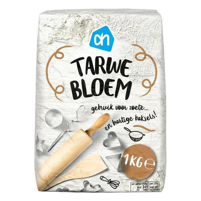 AH BASIC Witte tarwebloem (1kg)
