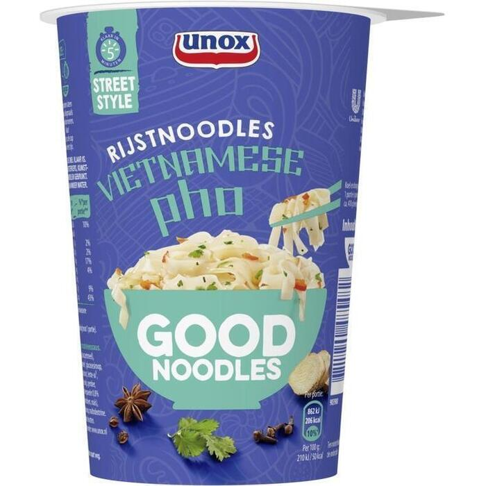 Unox Good Noodles rice pho cup (60g)