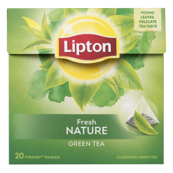 LIPTON TEA GREEN (zak, 20 × 36g)