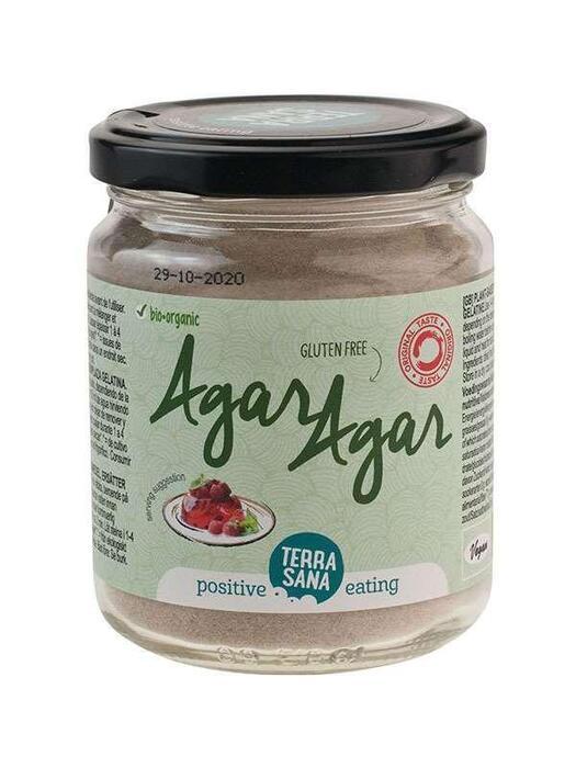 Agar-agar (in glas) TerraSana 120g (120g)