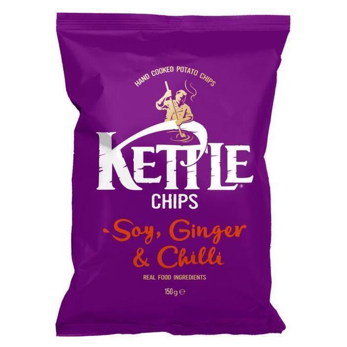 Kettle Soy-ginger-chilli (150g)