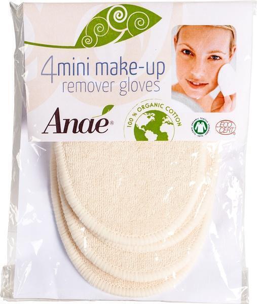 Wasbare make-up handschoen (4 st.)