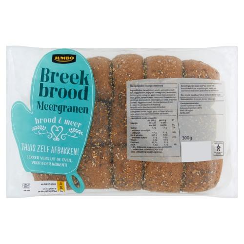 Jumbo Breekbrood Meergranen 300g (300g)