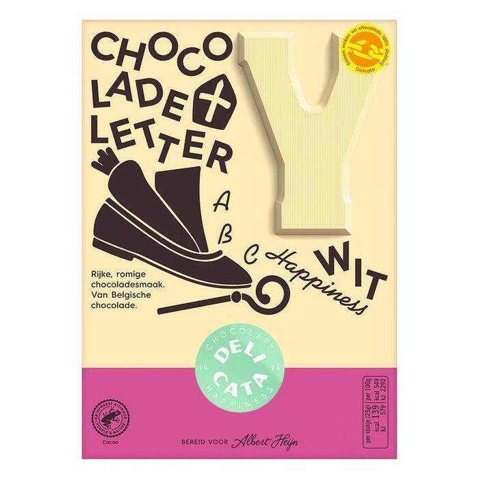 Chocoladeletter Wit (r, 90g)