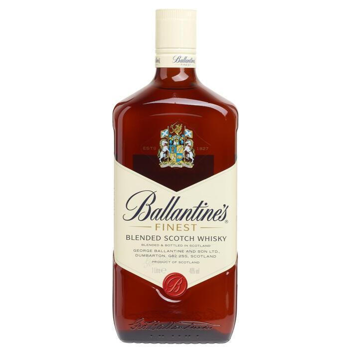 Ballantine's Blended Scotch whisky (rol, 100 × 1L)
