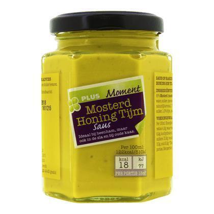 Mosterd honing tijm saus (200g)