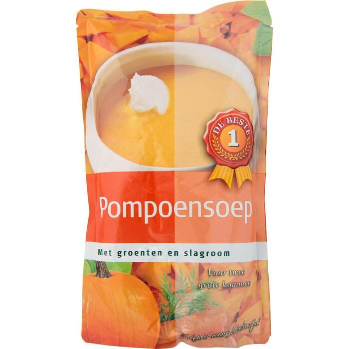 Soep in zak pompoen (0.57L)