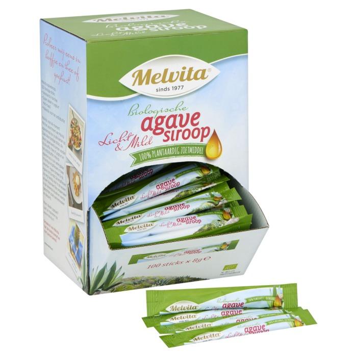 Melvita Agavesiroop bio stick 100x8g (100 × 8g)