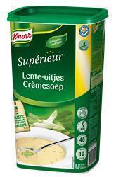 Knorr Sup Lente-Ui Cremesoep 1KG 6x (fles, 6 × 1kg)