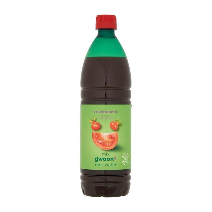g'woon Siroop vruchtenmix (0.75L)