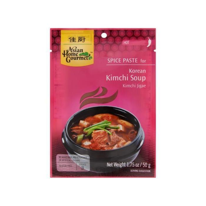 Asian Home Gourmet Spice Paste for Korean Kimchi Soup Kimchi Jigae Hot 50g (50g)