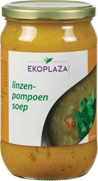 Linzenpompoensoep (pot, 0.72L)