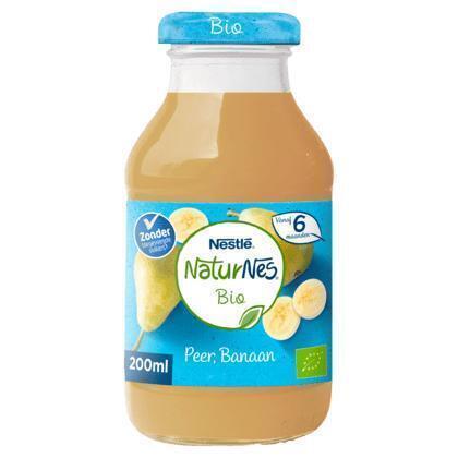 Nestlé Supersap bio peer banaan (200ml)