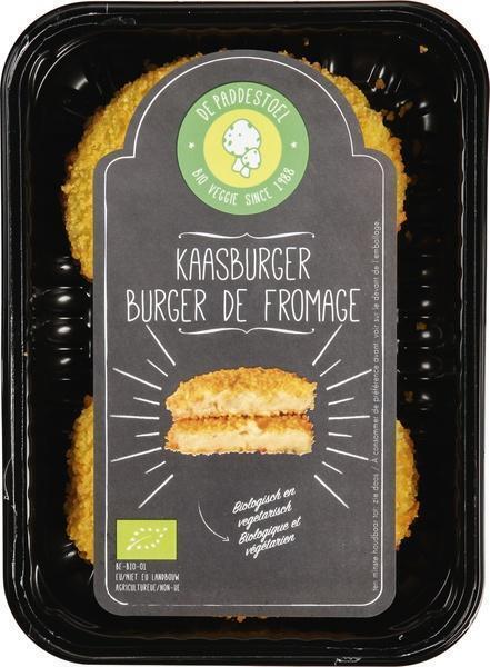 Bio kaasburger (170g)
