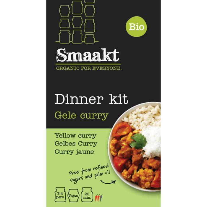 Smaakt Dinner kit Gele curry (420g)