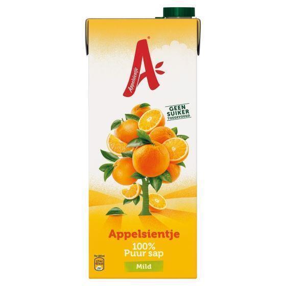 Mild Sinaasappel (pak, 1.5L)