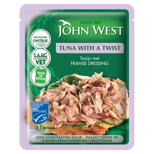 John West Tuna with a Twist French Dressing MSC 85 g (85g)