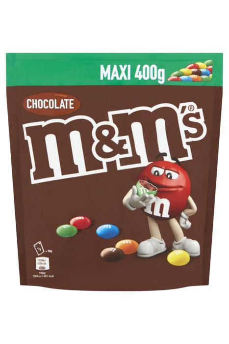 Choco M&M's (zak, 400g)