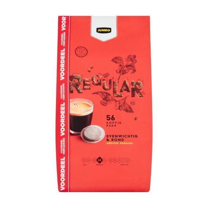 Jumbo Regular Voordeelverpakking 56 Koffiepads 389 g (389g)