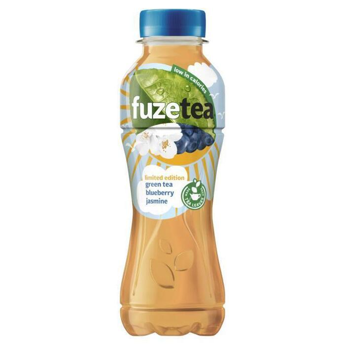 FuzeTea Green Tea Blueberry Jasmine Limited Edition 400 ml (rol, 40cl)