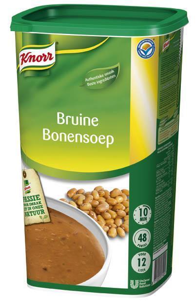 Knorr Bruine Bonensoep 1.2KG 6x (6 × 1.2kg)