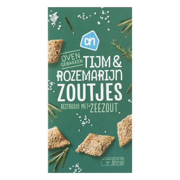 AH Tijm & rozemarijn zoutjes met zeezout (75g)