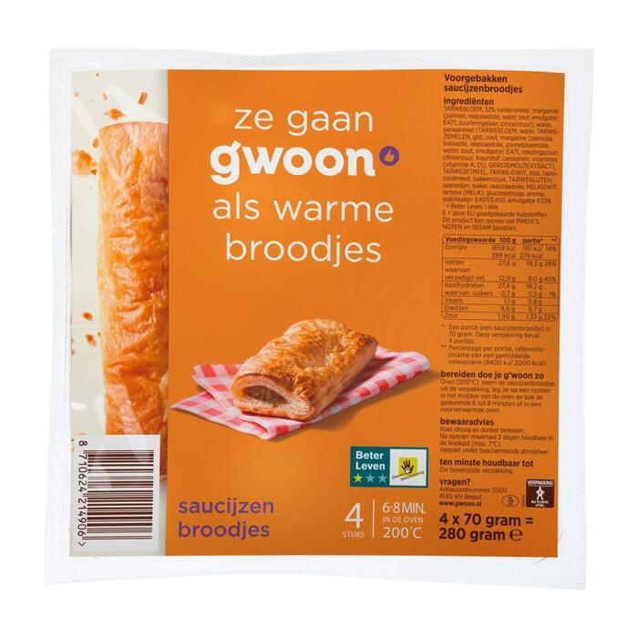 g'woon Saucijzenbrood