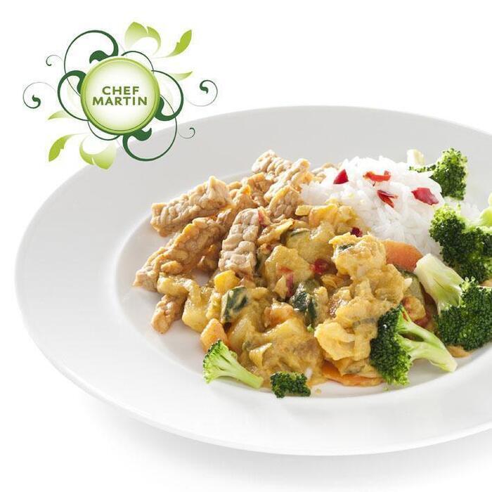Chef Martin Vegetarische curryschotel broccoli rijst (472g)