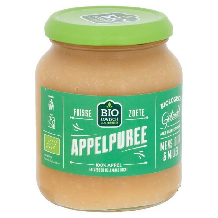 Biologische Frisse Zoete Appelpuree (350g)