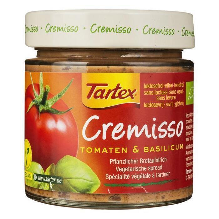 Cremisso spread tomaten basilicum (pot, 180g)