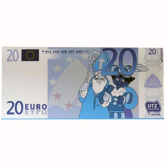 De Heer Chocolade eurobiljet (5 × 200g)
