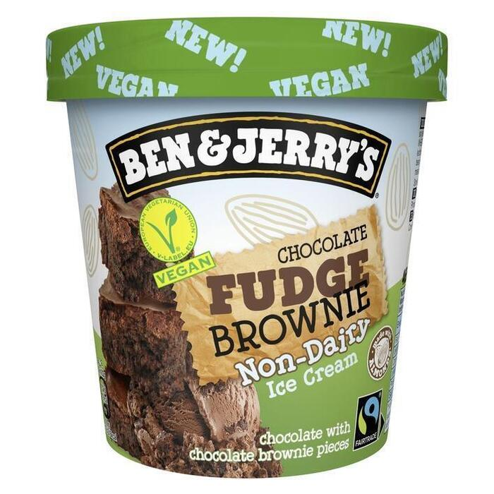 Ben & Jerry's Chocolate fudge brownie non-dairy (46.5cl)