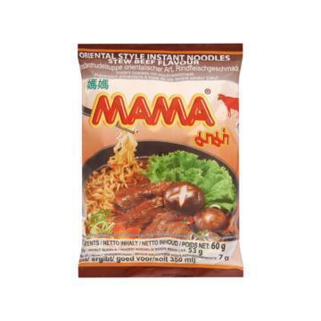 Mama Instant Noedels met Stoofvleessmaak 60g (60g)