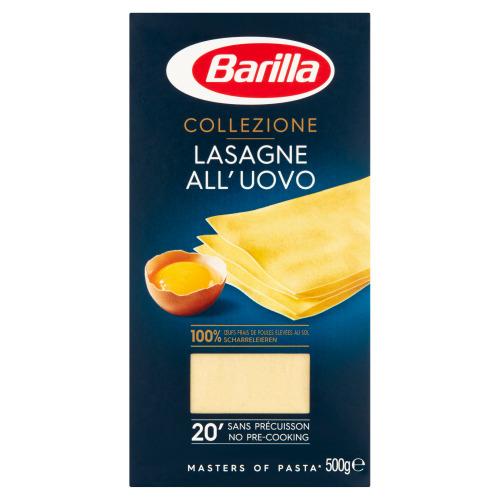 Barilla Collezione Lasagne All'Uovo 500g (500g)