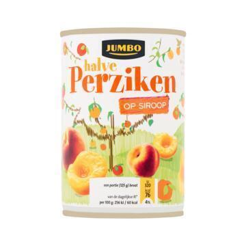 Halve Perziken op Siroop (blik, 410g)