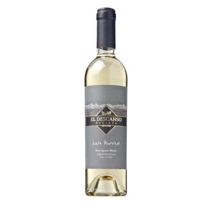 El Descanso Late Harvest Sauvignon Blanc, witte wijn, Chili, 37,5 cl (rol, 37 × 37.5cl)