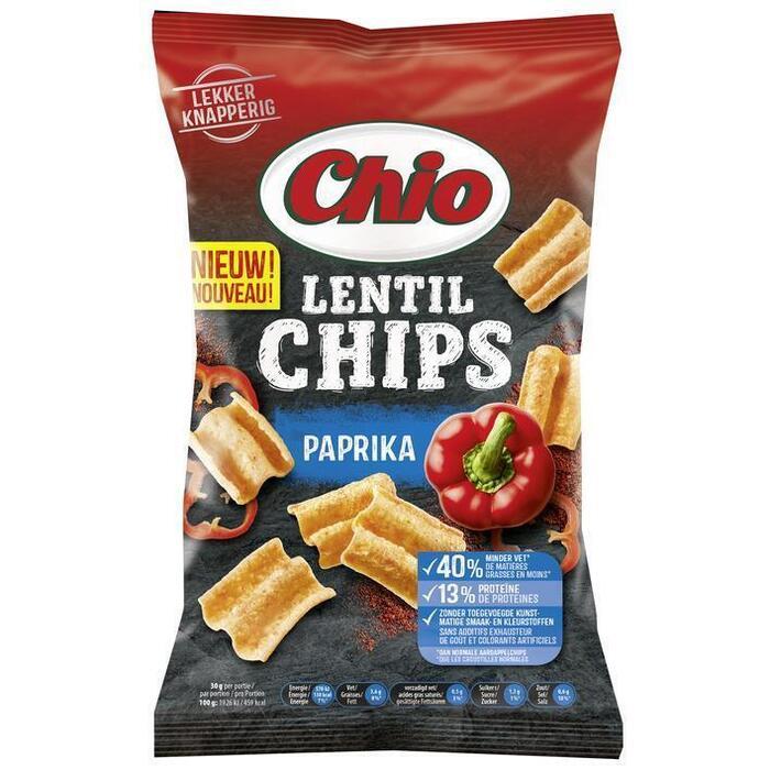 Chio Lentil chips paprika (100g)