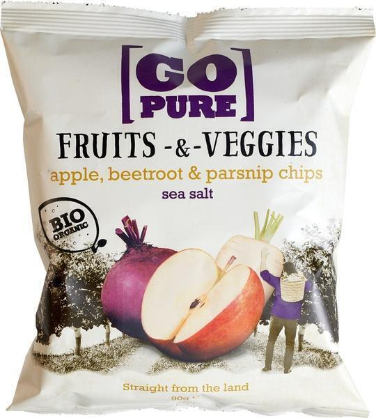 Fruits & Veggies chips sea salt (90g)